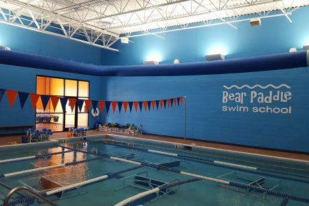 Bear Paddle Swim School indoor pool area