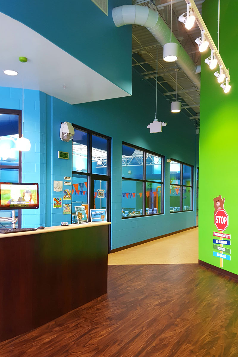 Foyer at Bear Paddle Swim School