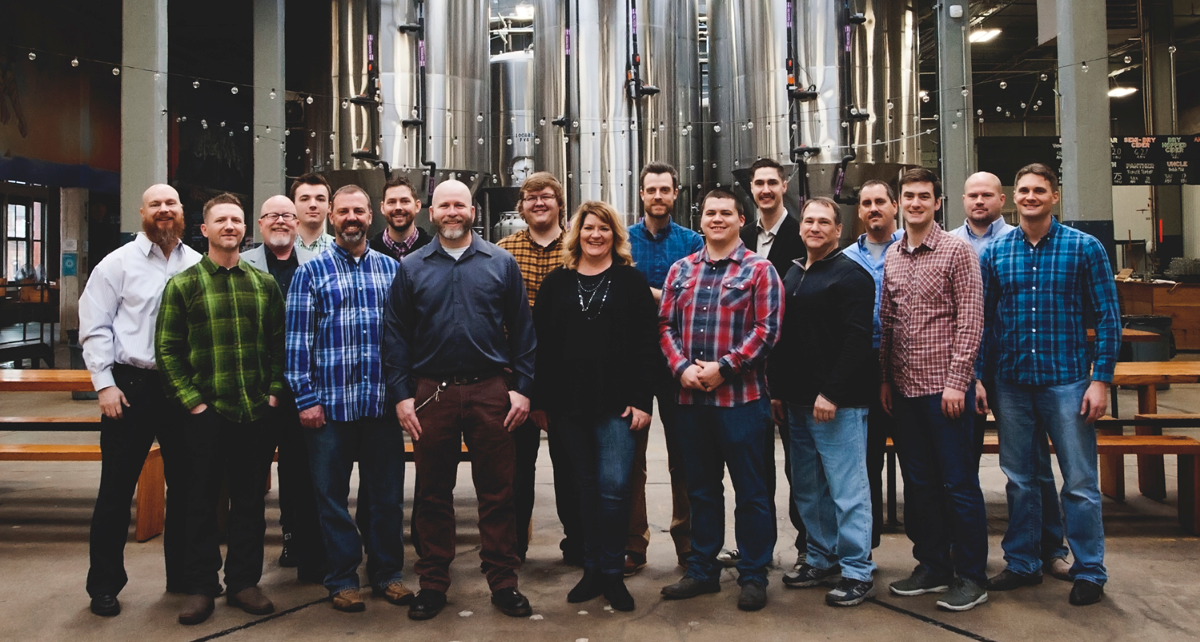 Engineered Building Systems Team at Rhinegeist Brewery