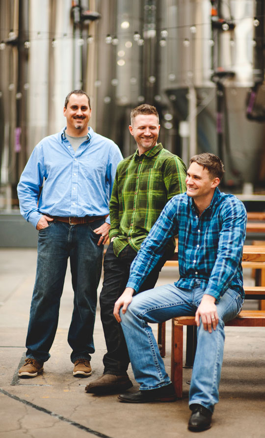 Keith, Paul, and Scott — Founders of EBS