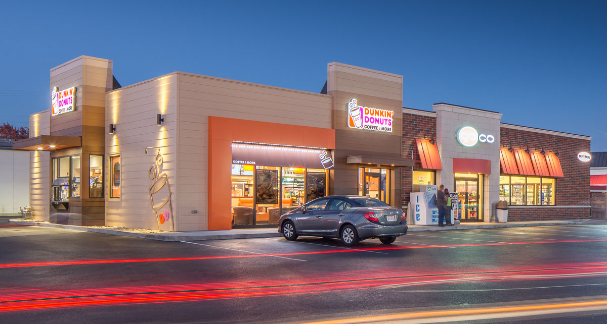 GoCo Dunkin Donuts combined retail space