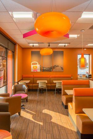 GoCo Dunkin Donuts dining area