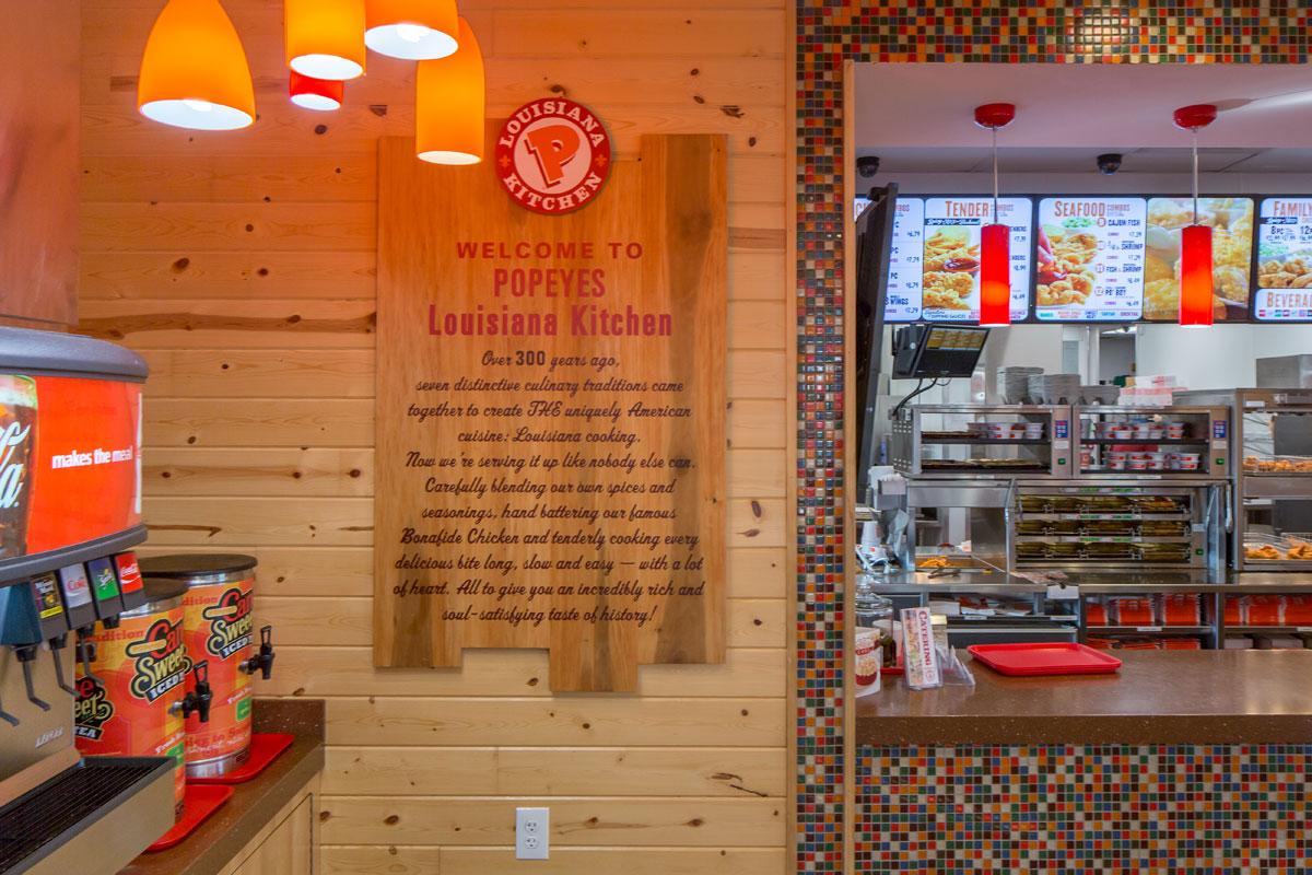 GoCo Popeyes restaurant combination