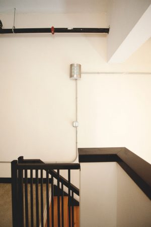 Alumni Lofts stairwell