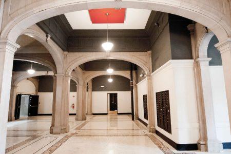 Alumni Lofts main foyer