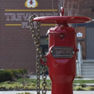 Trevarren Flats Fire Safety water source