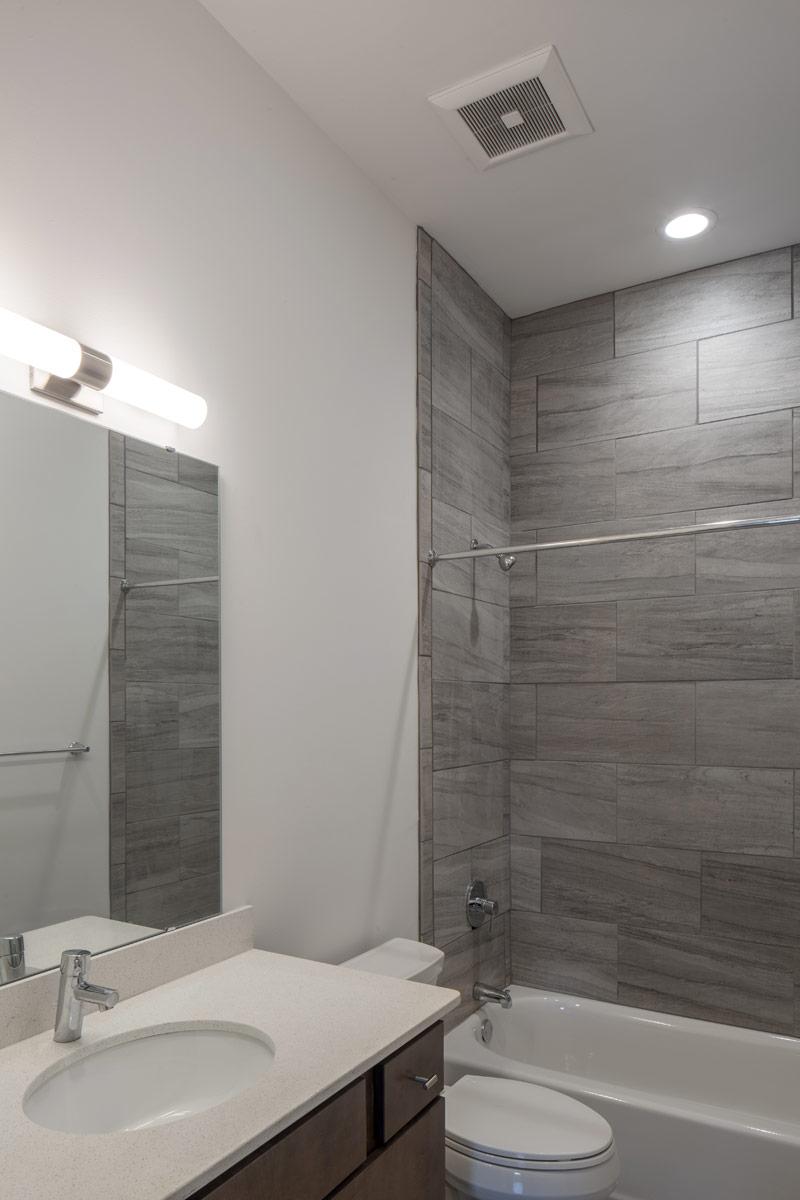 Findlay Market - Race Street renovation upstairs bathroom