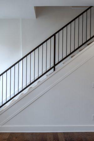 Findlay Market - Race Street stairway leading to 2nd floor