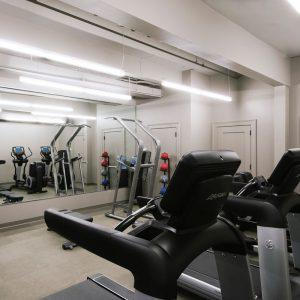 Fitness facilities at Hotel Covington