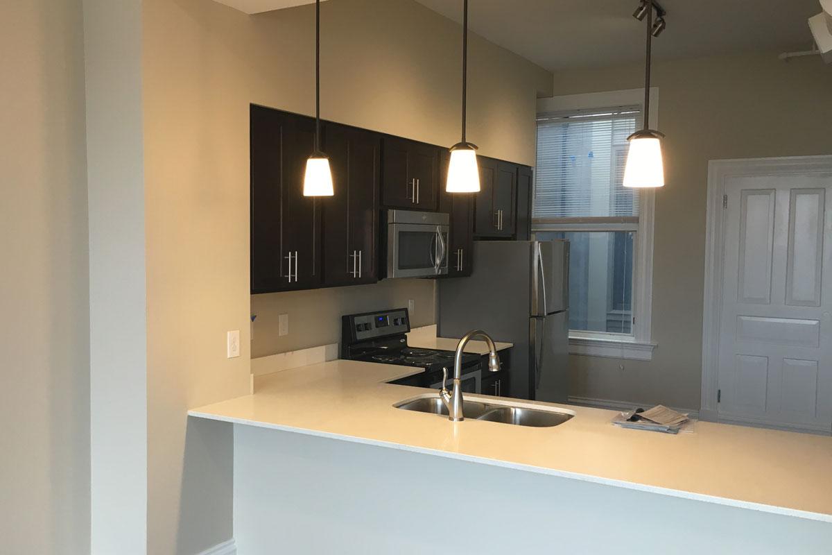 Trevarren Flats kitchen renovation